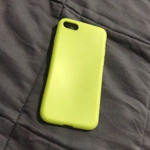 💛 (IPhone 7/8) Fluorescent Yellow phone case 💛